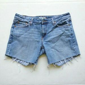 Levi's Shorts - Levi's 545 Distressed Cut Off Jean Shorts